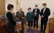 Uroczyste spotkanie z Kombatantami w Starostwie Myślenickim