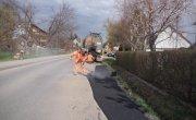 Prace remontowe na drogach powiatowych