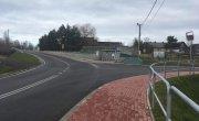 Przebudowane skrzyżowanie w Krzyszkowicach