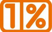 Logo 1%