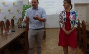 spotkanie informacyjne Małopolska Lokalnie 2021 w myślenickim starostwie