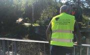remont mostu w ciągu drogi powiatowej Pcim - Krzywica - Poręba w miejscowości Pcim