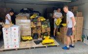 Wolontariusze akcji Czyste Tatry w trakcie pracy organizacyjnej