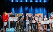Wręcznie nagród i wyróżnień dla Laureatów I Festiwalu Orkiestr Dętych Krakowiacy i Górale