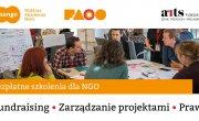 Bezpłatne Szkolenia dla NGO - Mobilna Akademia NGO MANGO we współpracy z Fundacją ARTS